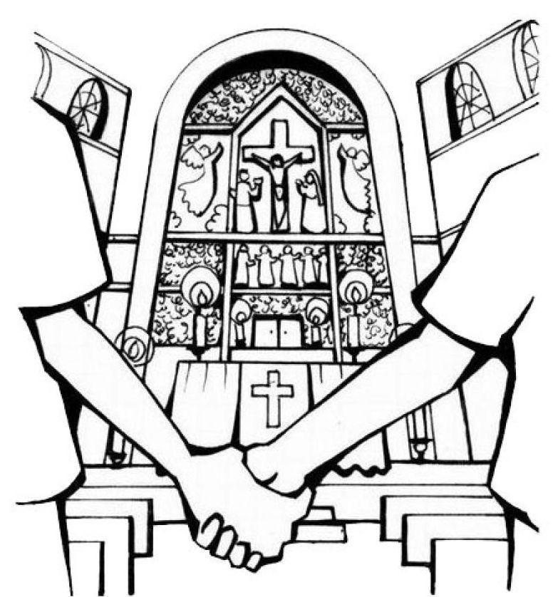 Pastorale scolaire ecole du christ roi herseaux - Dessin eglise ...