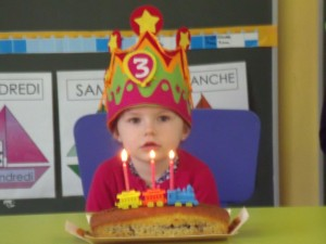 Angèle - 3 ans