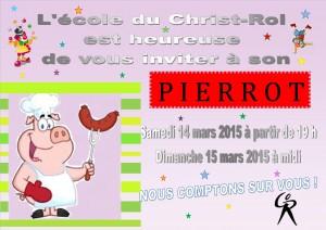 Affiche Pierrot - 2015
